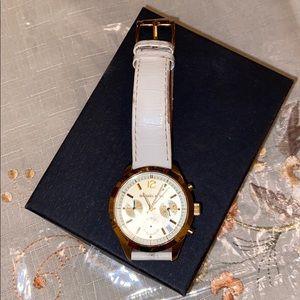 MICHAEL KORS gold/white watch